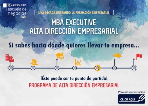 CURSO DE ALTA DIRECCIÓN EMPRESARIAL (9ª edición) - MBA EXECUTIVE (BLOQUE 1)