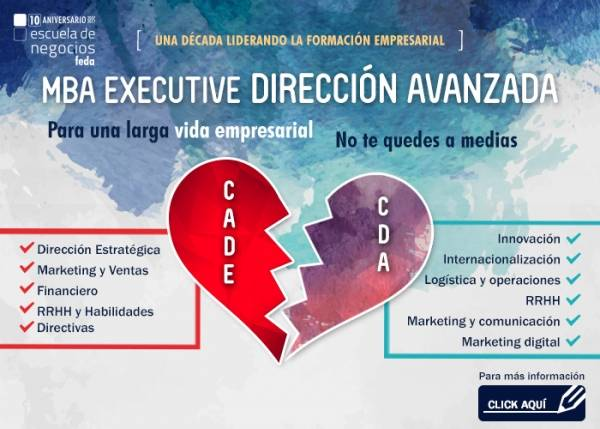 CURSO DE DIRECCIÓN AVANZADA (8ª edición) - MBA EXECUTIVE (BLOQUE 2)