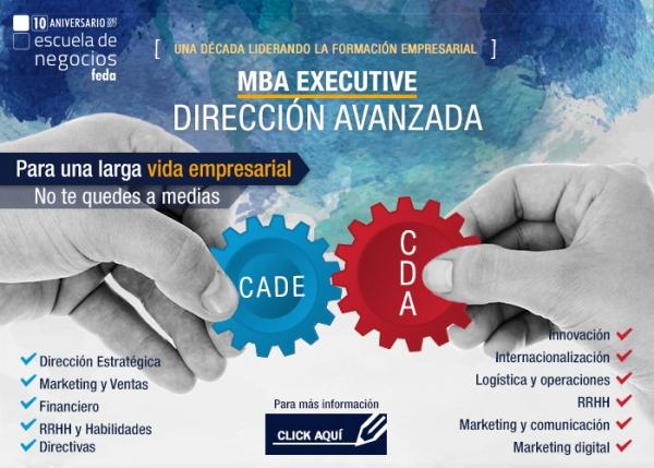 CURSO DE DIRECCIÓN AVANZADA (9ª edición) - MBA EXECUTIVE (BLOQUE 2) 2017-2018