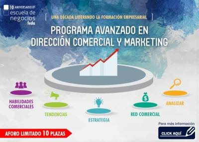 Programa Avanzado de Dirección Comercial y Marketing 2017